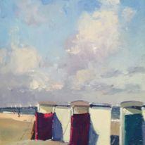 beach huts katwyjk