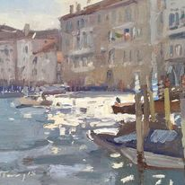 Sunlight on the Grand Canal