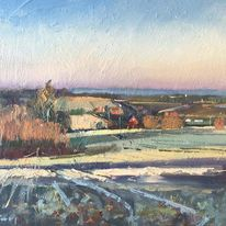 Frosty morning, Isle of Oxney