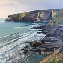 Late afternoon Trebarwith