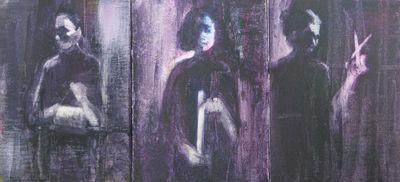 The Three Fates, Dark series triptych studies