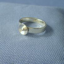 Cup and ball ring