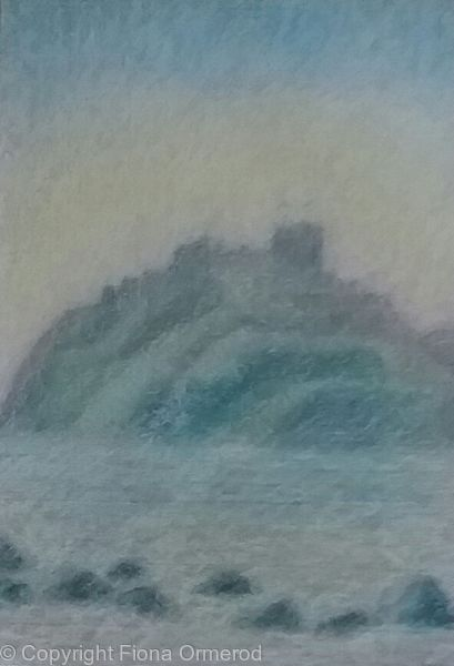 Summer Haze, Criccieth Castle