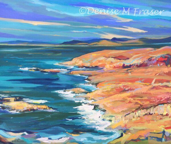 Viking Bay, painting