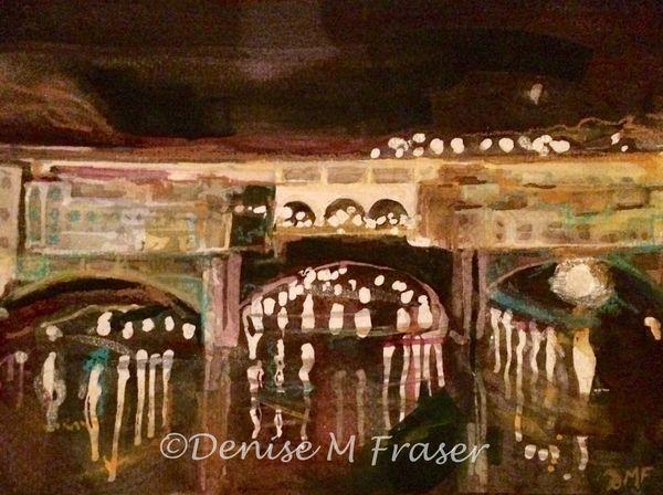 Nocturne, Ponte Vecchio Bridge