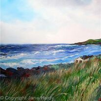 Summer Breeze- Hayle Beach Cornwall