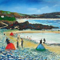 Sandy Shore- Gwithian Cornwall