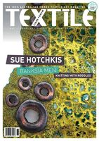 Cover of Textile Fibre Forum magazine