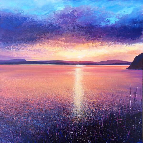 Sunset over Windermere