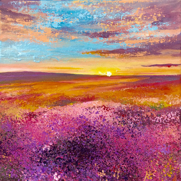 Moorland Sunrise. Day 11 SOLD