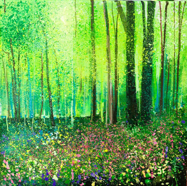 Woodland Flowers. Day 31 SOLD