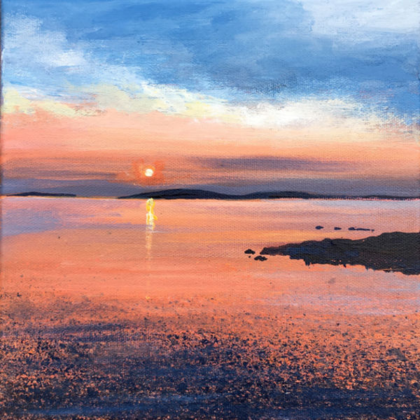 Scilly Sunset Day 99 SOLD