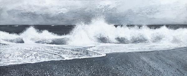 Hengistbury Wave Day SOLD