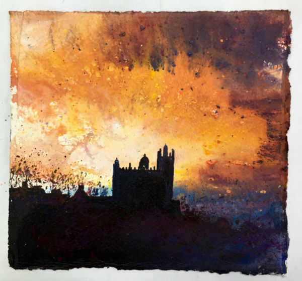 Castle Sunset Day 117 SOLD