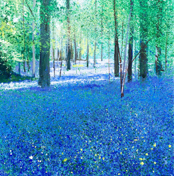 Bluebells. Day135 SOLD