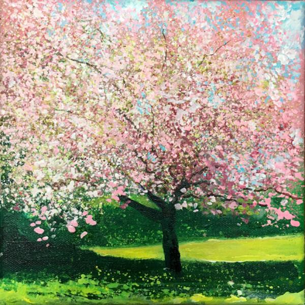 Cherry Blossom Day 144 SOLD