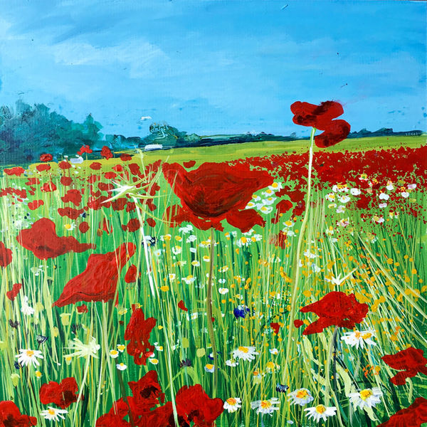 Poppies day 176 SOLD