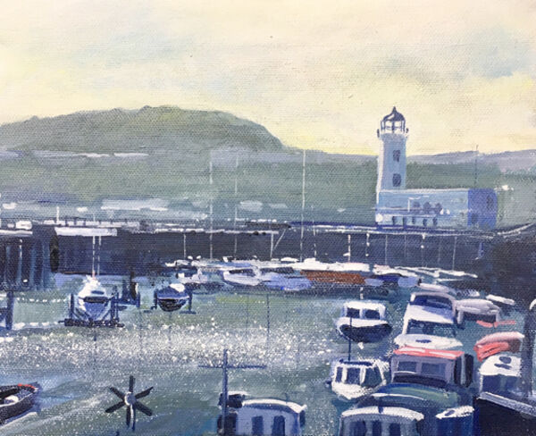Scarborough Harbour Day 358