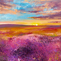 Moorland Sunrise. Day 11 SOLD