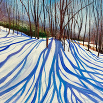 Shadows in The Snow SOLD
