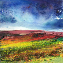 Moorland Colours. Day 26 SOLD