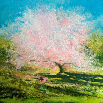 Cherry Tree. Day 72 SOLD