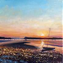 Poole Sunset Day 78 SOLD