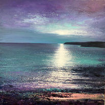 North Coast Moonlight. Day 88 SOLD