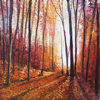 Autumn Shadows Day 254 SOLD