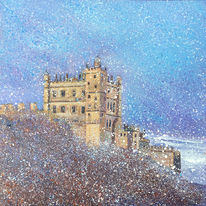 Castle in The Snow. Day 306 SOLD