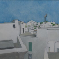 Ostuni roof view