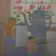 Four coffeepots
