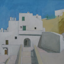 Ostuni, the way down