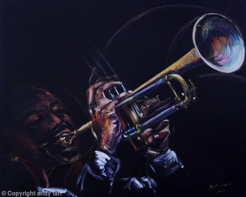 Trumpet, prints available