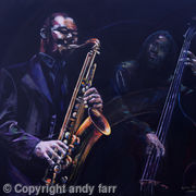 Sax, prints available