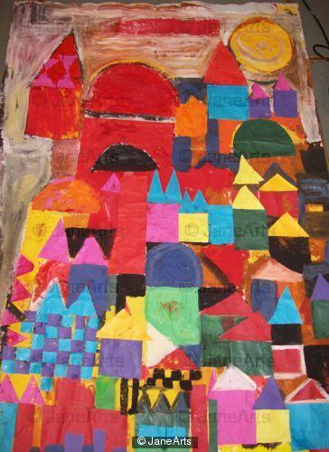 Paul Klee Day Scene Fazakerley Primary School Reception