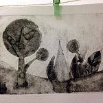 Collograph workshop @ hub47
