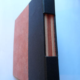 Star book with cutaway spine