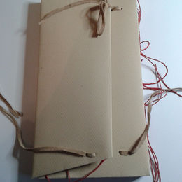 Tacketed book
