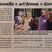 article de presse, novembre 2013