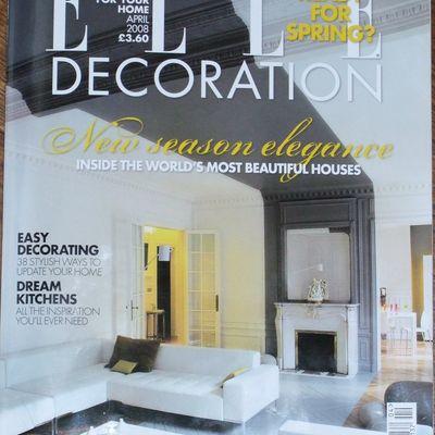 Elle Decoration, April 2008