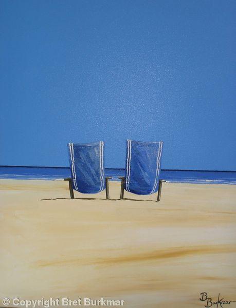 Blue Deckchairs