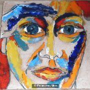 Face three