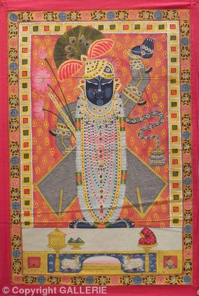 PIC 29,Pichwai from Rajasthan India,Size-23X34