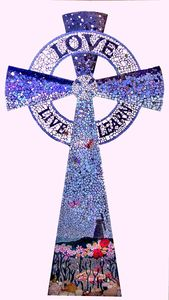 Cross for our Lady of Lourdes Rottingdean