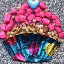 Pebble Cupcake Mosaic