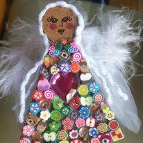 Textile Angel Mosaic