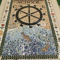 Barcombe school mosaic