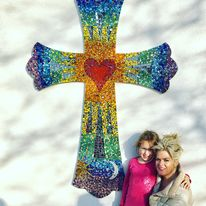 Mosaic Cross Goring C of E first school