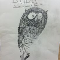 owl drawing winner
